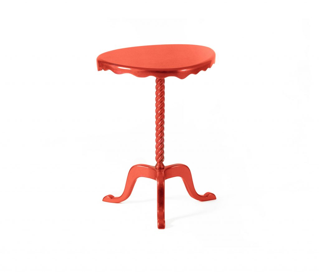 red Side Table by Boca do Lobo