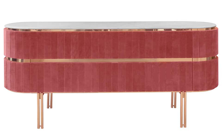 pink furniture Sideboard by Essential Home