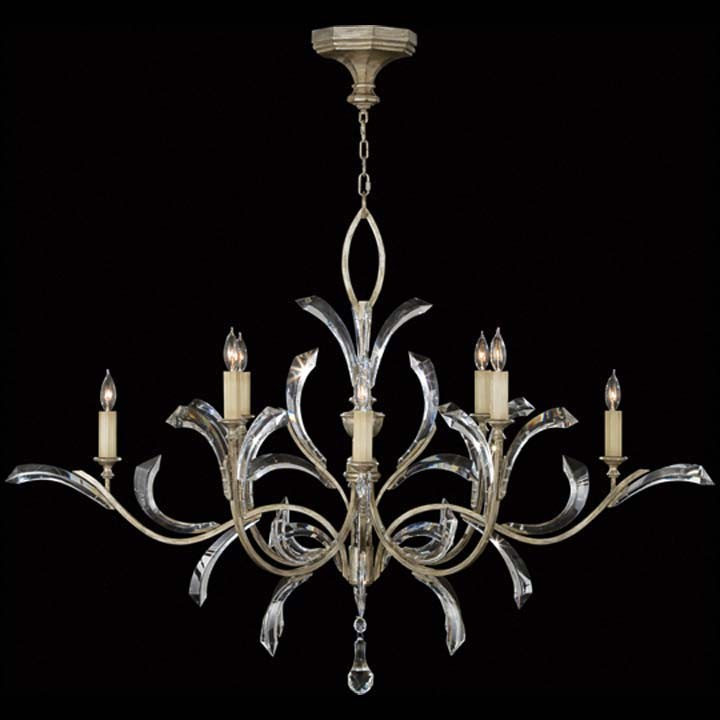 Beveled Arcs Chandelier by Fine Art Lamps