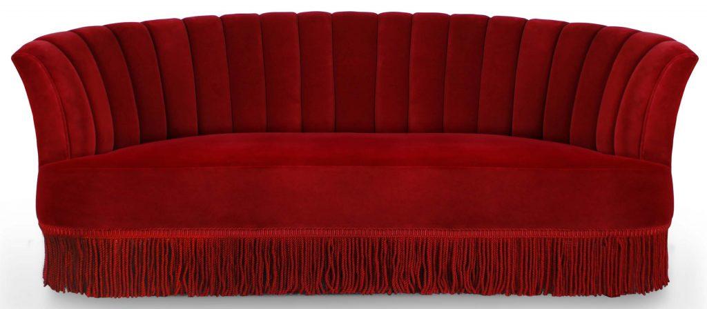 sevilliana sofa koket - red furniture