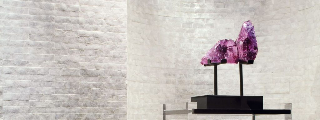 Flexi Mother of Pearl statement wallpaper by Maya Romanoff