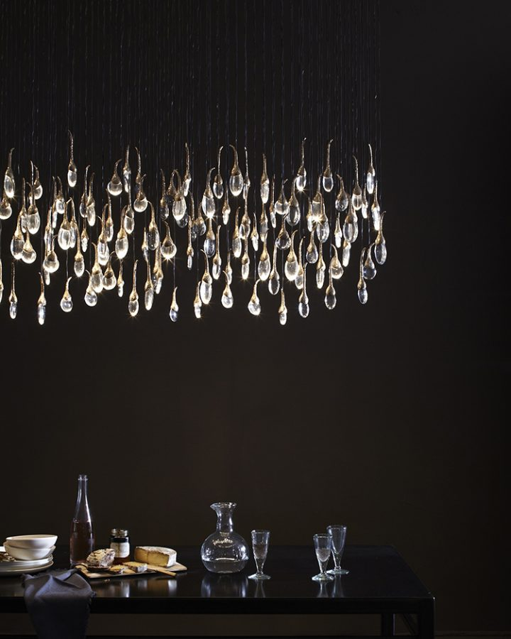 Seed Cloud Installation Rectangular by OCHRE - unique luxury lighting brands to know