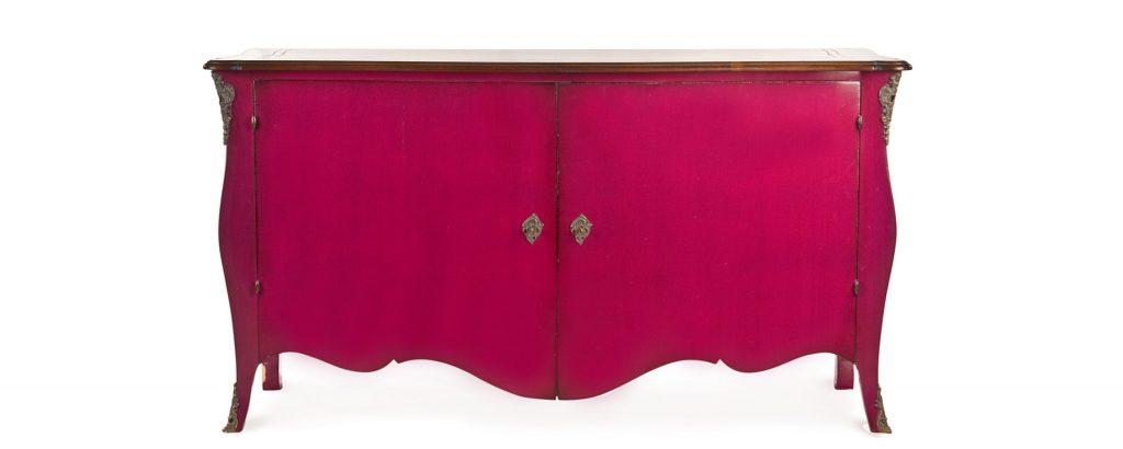 oficina inglesa pink grace sidboard