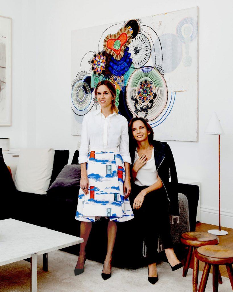 Rosa de la Cruz and Tierney Horne, Co-founders of Rosa de la Cruz London