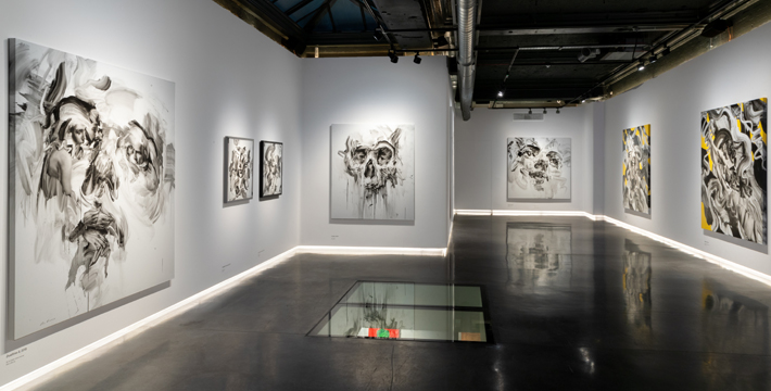 Transcend: A Unit London Memorial Exhibit to British Artist Tom French