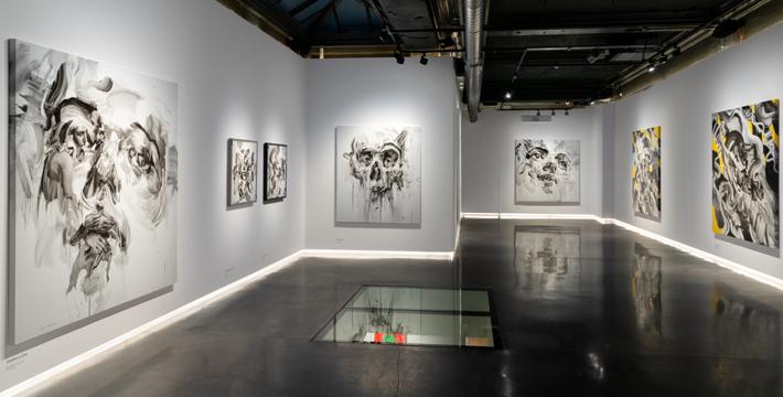 unti london tom french transcend memorial exhibit