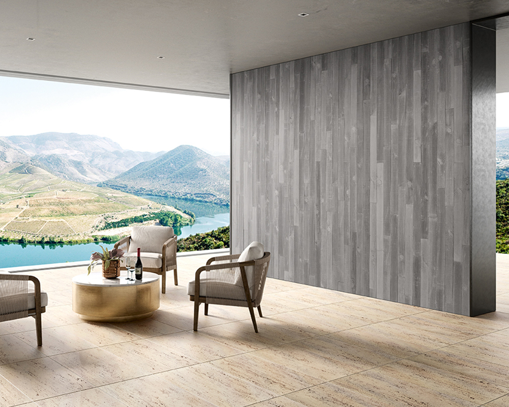 living room with amazing view - sensory design - A Cimenteira do Louro (ACL)
