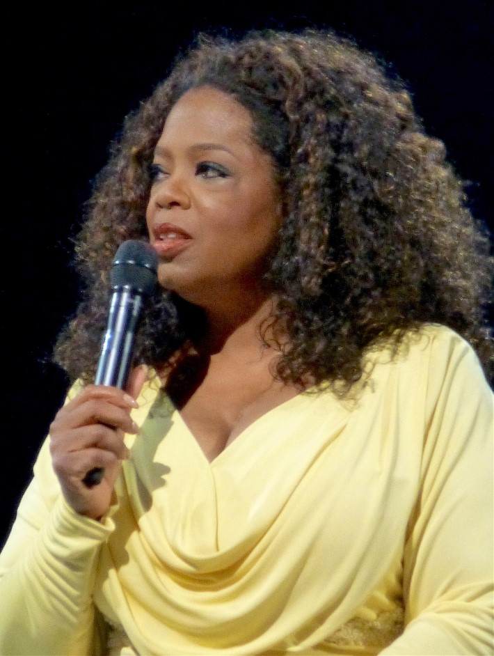 "Oprah in Miami on her ""The Life You Want"" tour (Photo via Wikimedia Commons)"
