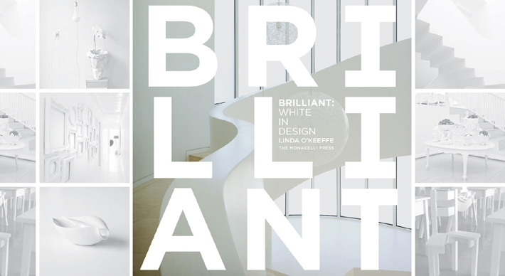 brilliant white in design by linda o'keeffe