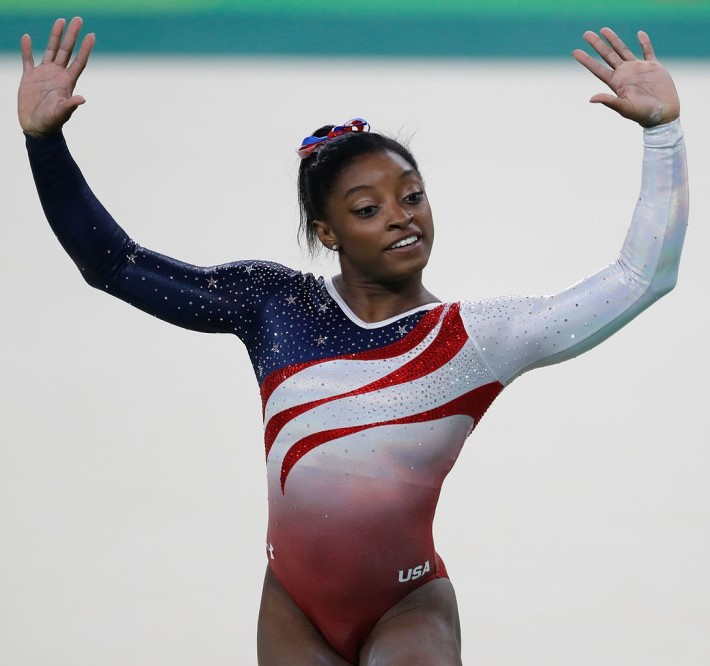 Remarkable Moments for Women: Simone Biles