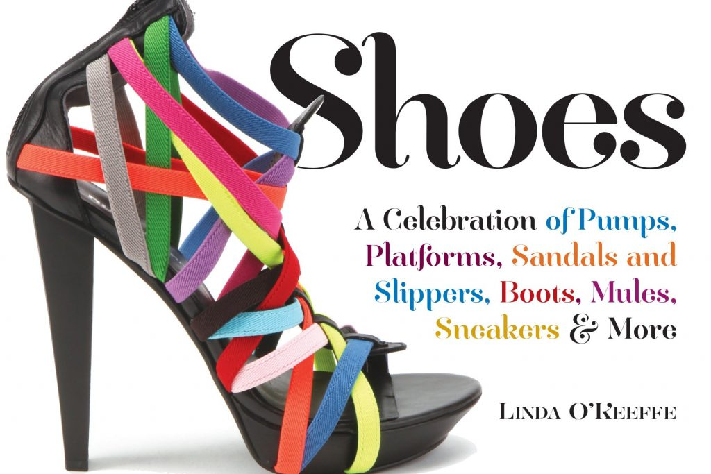 shoes book cover by linda o'keeffe