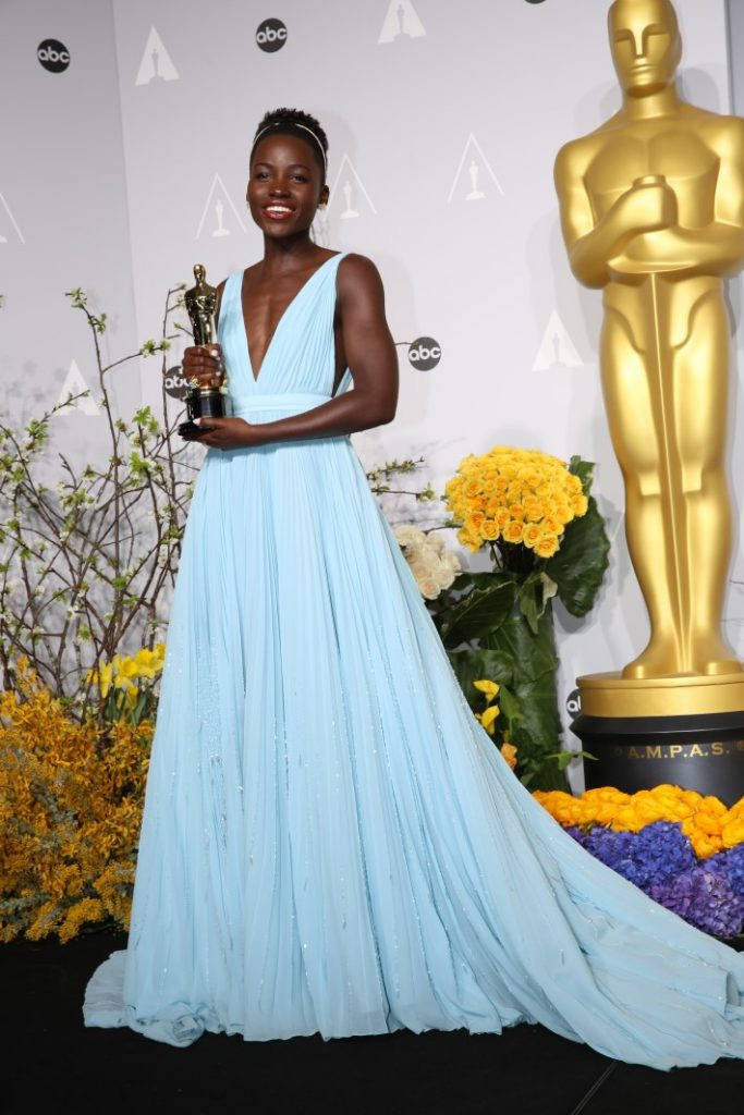 Lupita Nyong Won the Best Supporting Actress in 2018