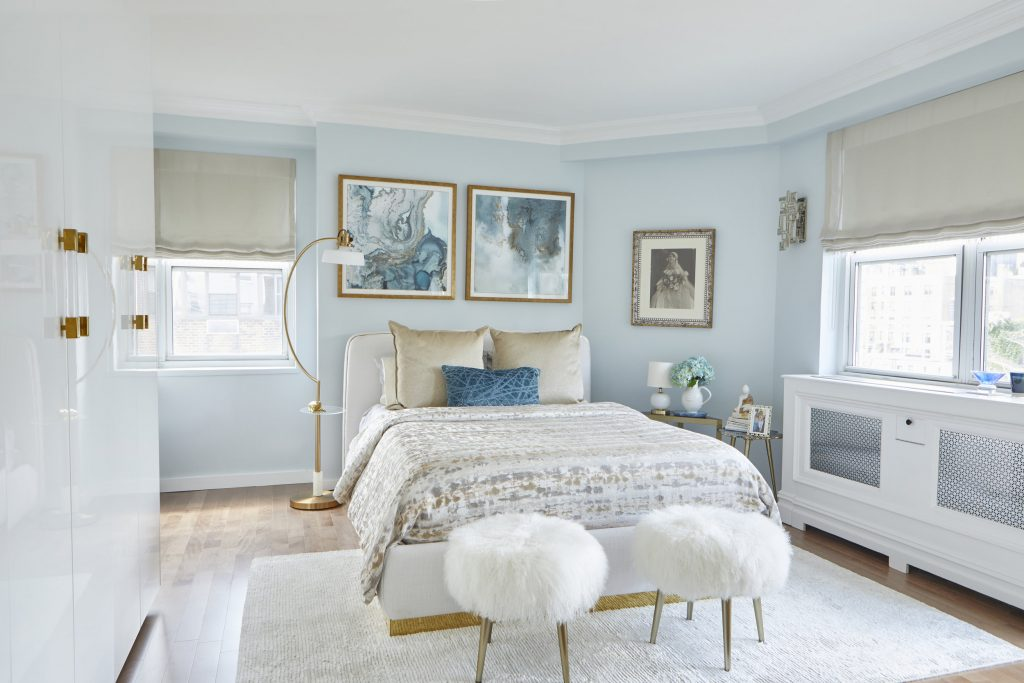 blue and white bedrooms - Interior design by Phyllis Harbinger, Design Concepts Interiors (Photo by Anastassios Mentis)