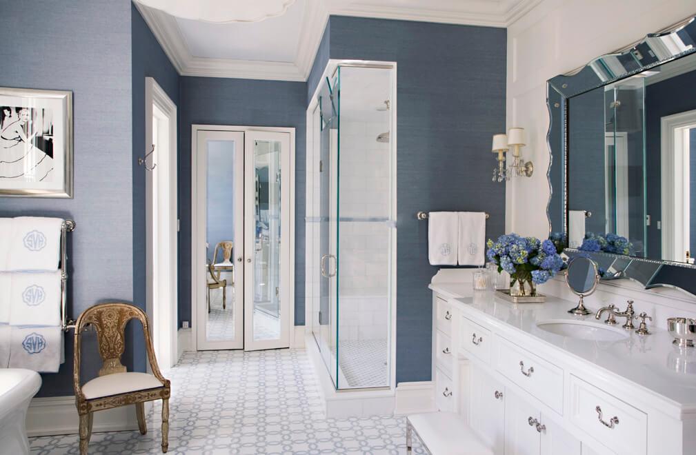 bathroom Interior design by S-B Long Interiors