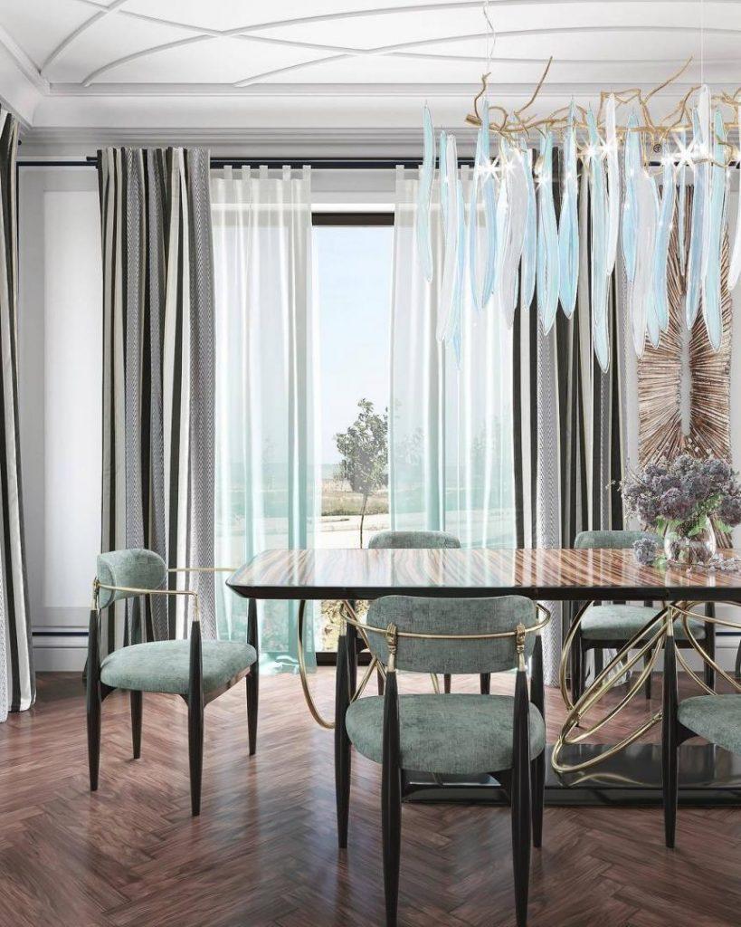 dining room Interior design by Mudunov Design