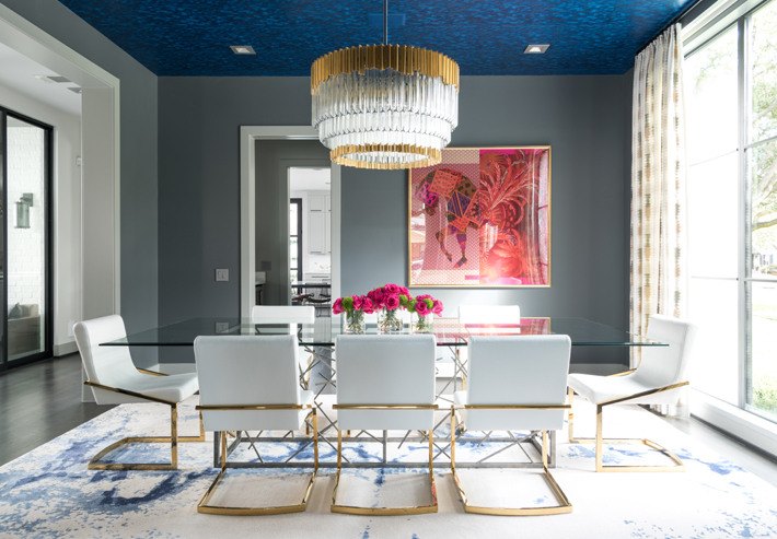 blue and white dining rooms laura u interior design