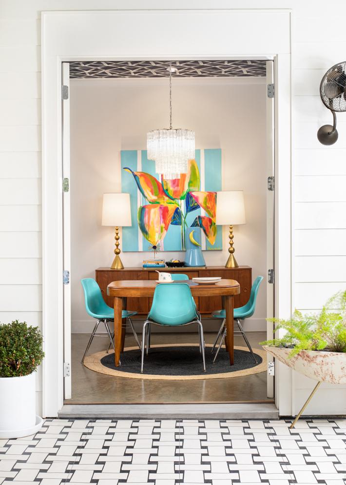 Interior design by Maestri Studio (Photo by Jenifer McNeil Baker)