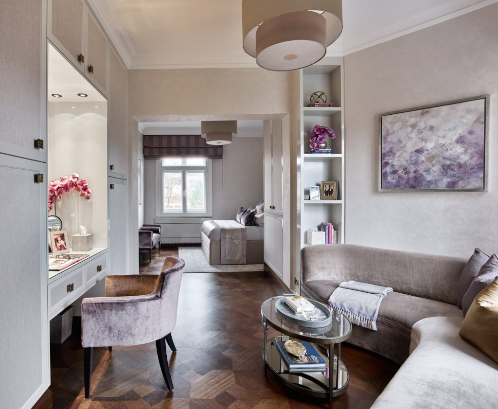 Bayswater Mansion Apartment designed by Elicyon