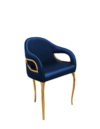 KOKET Chandra Chair Blue