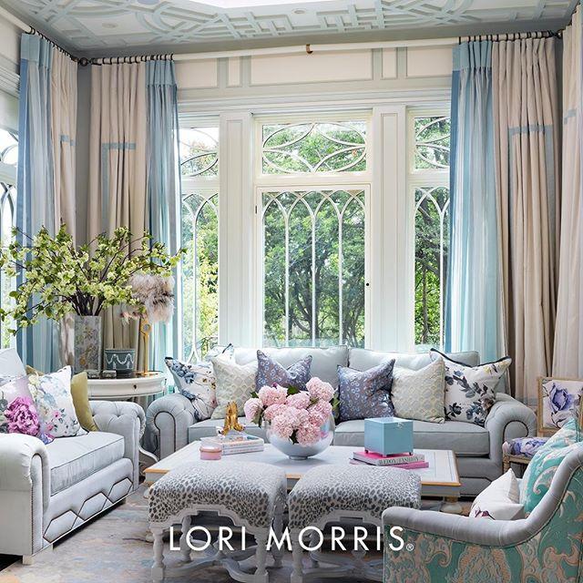 pastel living room by lori morris feminine vibes