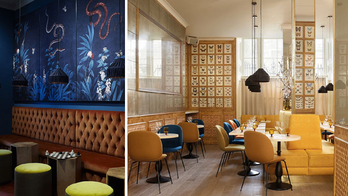Chess Club restaurant and bar in Mayfair (Photo Annabel Elston)