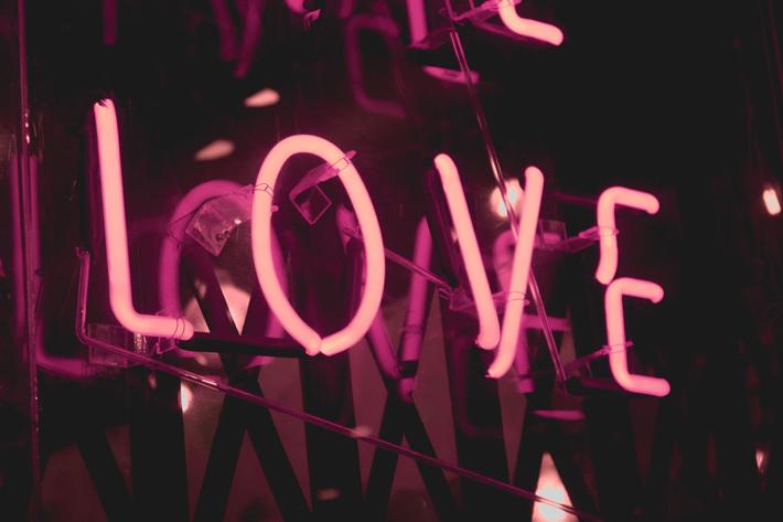 love in neon lights - self love - body positivity - photo by shaira dela pena unsplash