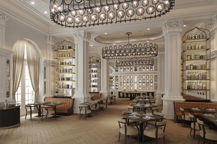 Raffles Singapore by Champalimaud Design