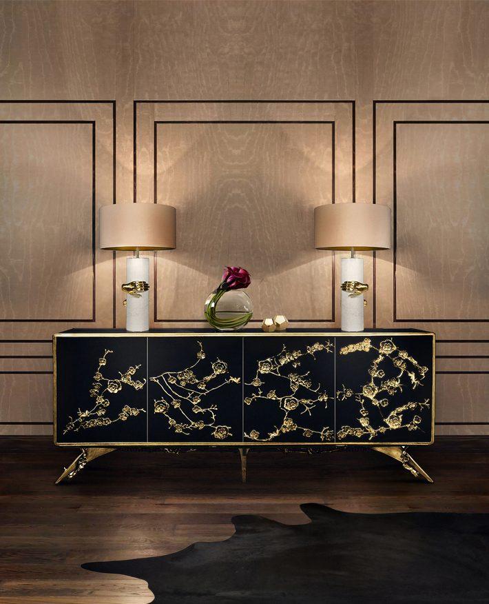 hand decor lighting Vengeance table lamp by koket