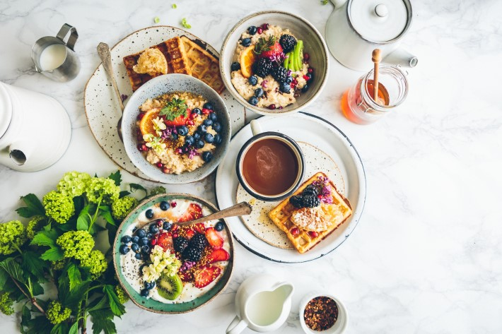 morning habits: eat a good breakfast