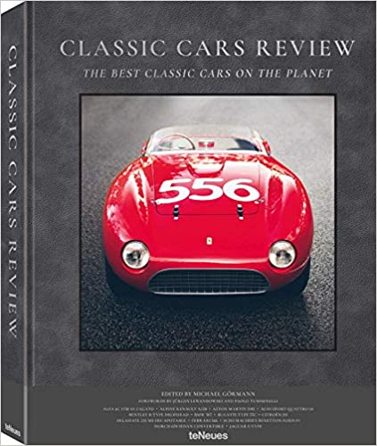 vintage classic cars book - unusual father's day gifts