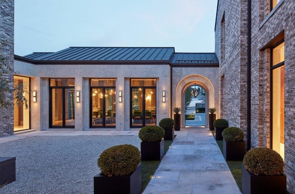 villa cortile interior design by audax modern classic interior design