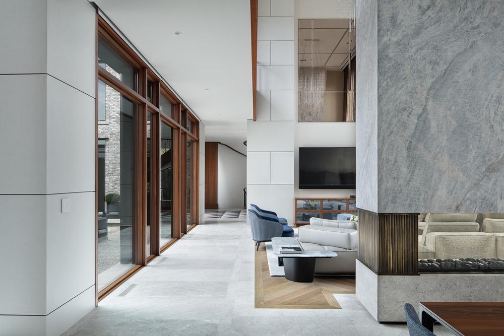 luxury modern classic interior design living room audax