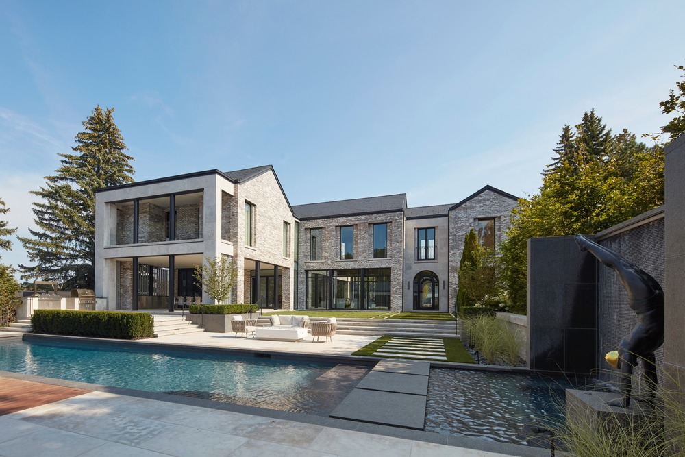 villa cortile residence designed by audax