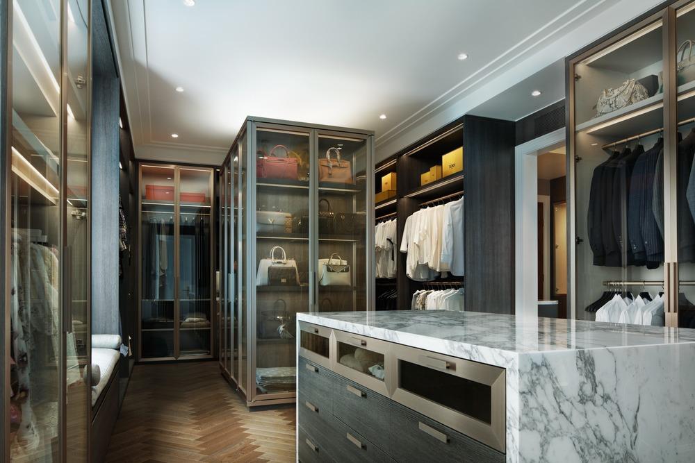 luxury master closet by audax