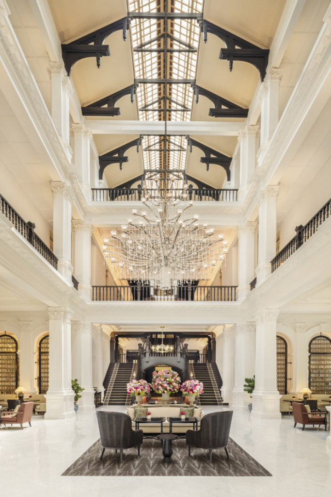 Raffles Singapore designed by Champalimaud Design