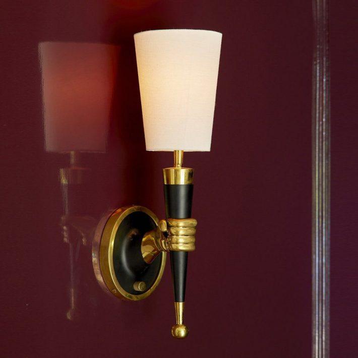 Brass Hand Sconce by Jonathan Adler