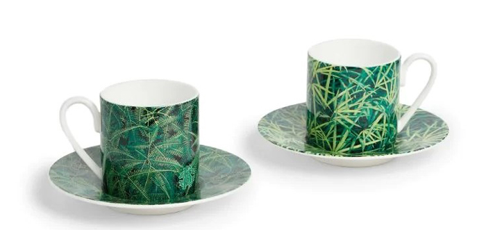 Mothers day - roberto-cavalli-home-paradise-foliage-cup-and-saucer-set