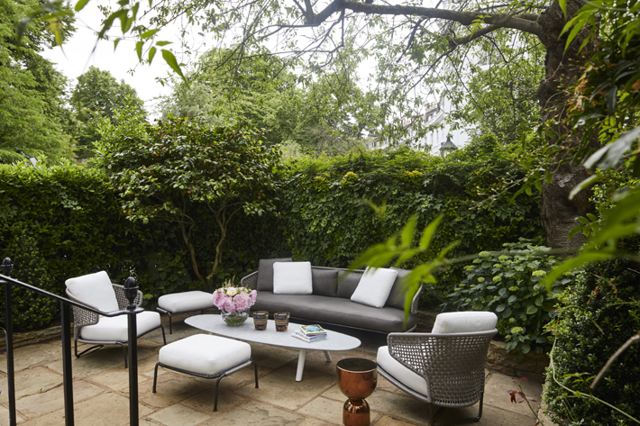 london outdoor living space luxury patio by stephanie coutas