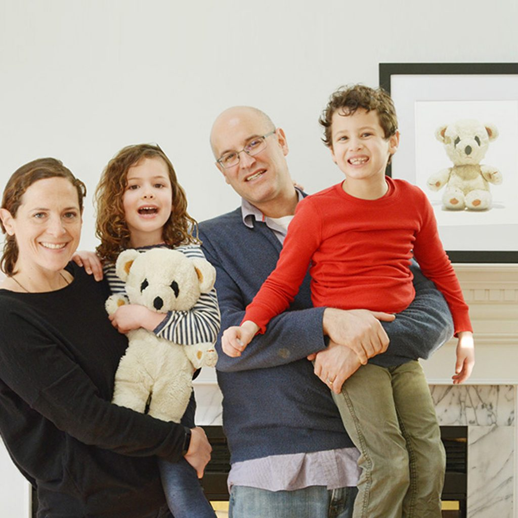 family with teddy bear photographed by shana novak the heirloomist, heirloom photography