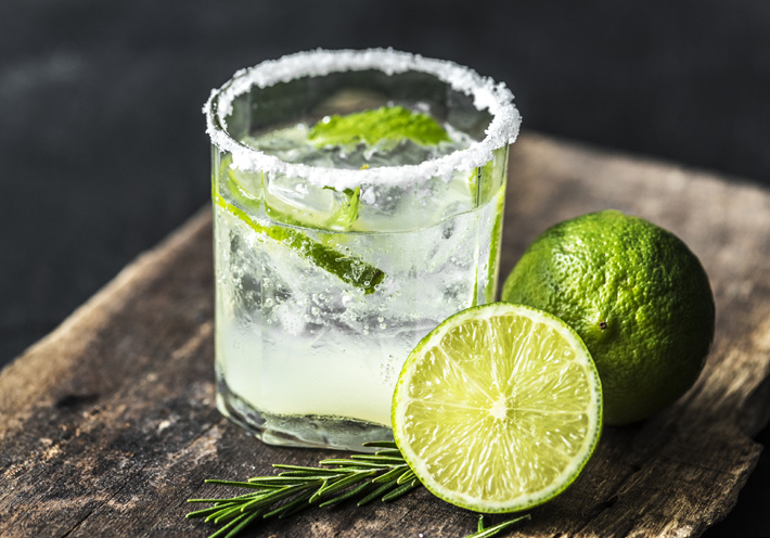 fresh lime Caipirinha receipe