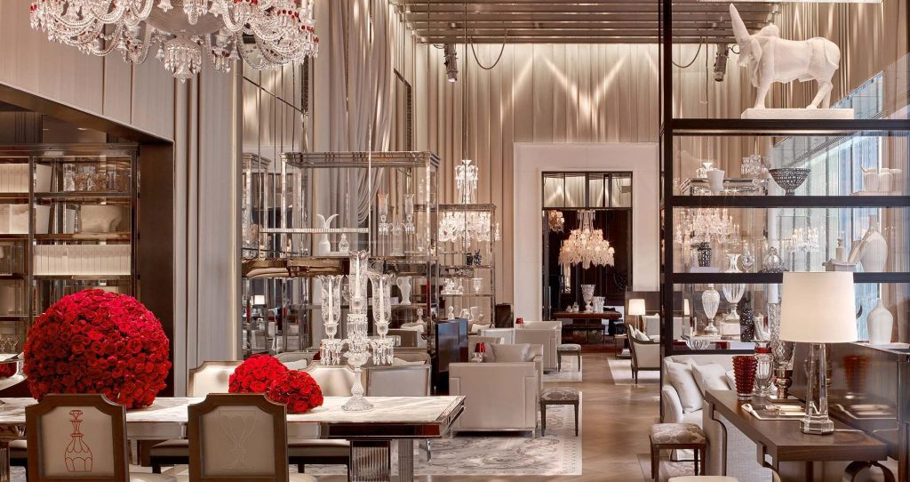 the grand salon at baccarat hotel new york