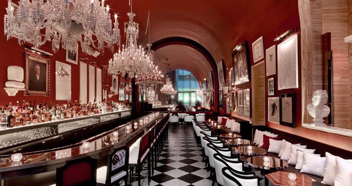 hotel interior baccarat hotel the bar nyc
