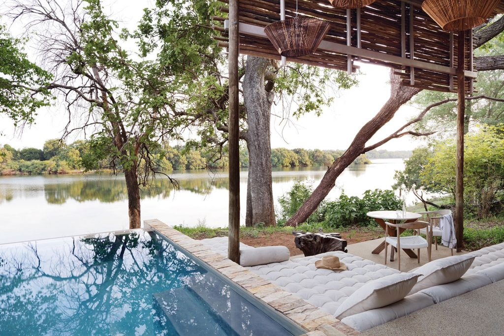 Matetsi Victoria Falls, Zambezi River, Africa