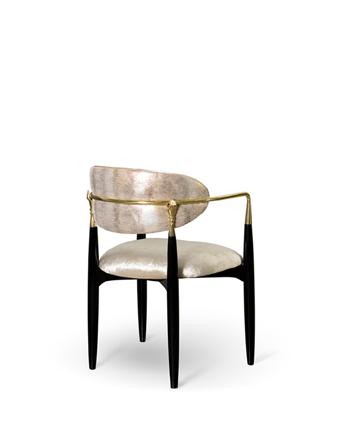 nahema dining chair by koket brass hand decor
