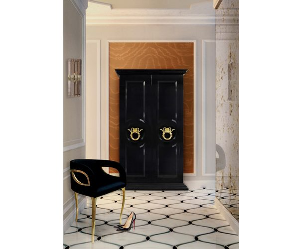 parisian armoire by koket snake door hardware