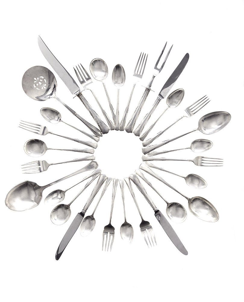 silverware heirloom photography