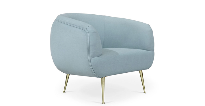 sky blue chair tayma koket