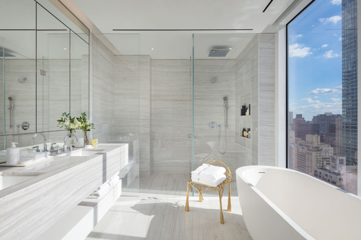 luxury marble bathroom new york city million dollar listings nyc