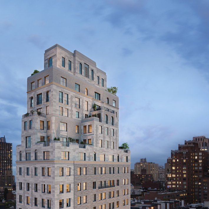 Rendering of the Beckford House & Tower NYC