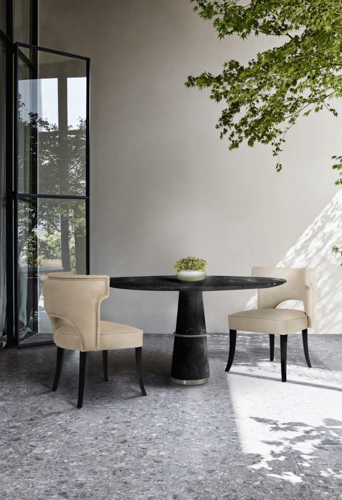 Brabbu Modern Outdoor Dining Room - demorais international - alfresco dining